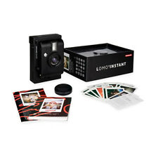 Lomography Lomo'Instant Black Edition Instant Film Camera Flash Photography Gift