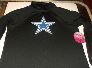Dallas Cowboys NFL Cowboys Her Style Payne Shock QZ shirt M