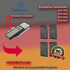 TEDSEN SKX1MD, SKX2MD Kompatibel Handsender,TOP Qualität Ersatz sender 433,92MHz