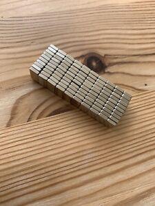 200 Pcs N50 Block 10x5x3mm Rare Earth Neodymium Super Strong Magnets