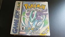 Nintendo Game Boy Pokemon Crystal Edition Sealed Complete in Box CIB small tear