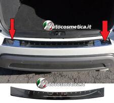 Modanatura Piastra  Protezione Paraurti Posteriore  Acciaio Nero Per FIAT 500X