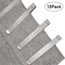 Sewing Clips Quilting Supplies Stainless Steel Hemming Clips Measurement Ruler