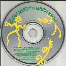 ZIGGY MARLEY Who Will Be there 1989 PROMO Radio DJ CD Single USA Bob PRCD2996