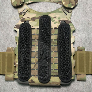 Breathable mesh pad Three-dimensional buffer Protective pads For Tactical Vest
