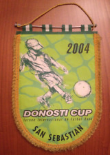 Donosti Cup Pennant Very Big Large Banderín Torneio Internacional San Sebastian