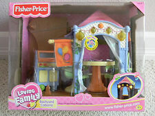 NEW Fisher Price Dollhouse Loving Family Backyard Cabana Doll House Accessory