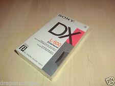 Sony Dynamicron L-500 DX Betamax Videokassette, OVP&NEU, 130 Minuten
