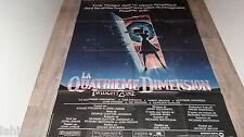 LA QUATRIEME DIMENSION twilight zone  ! steven spielberg affiche cinema