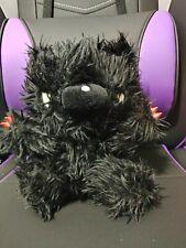 Gloomy Bear Halloween Edition Black Fluffy Vampire Plush Toy