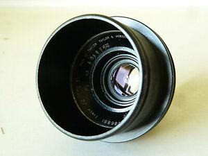 Vintage Cooke Speed Panchro f2/1 inch lens reversed in Arri mount for macro work