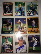 fmr. Pittsburgh Pirates MLB auto autograph 9 baseball card LOT Jack Wilson +more