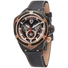 Tonino Lamborgini Black Dial Chronograph Mens Watch 3300