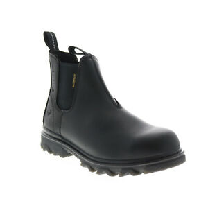 Wolverine I-90 Romeo CarbonMax W191025 Mens Black Leather Work Boots
