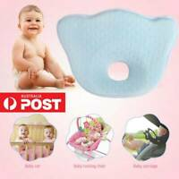 Baby Infant Newborn Memory Foam Pillow Prevent Flat Head Protect Neck Anti Yo