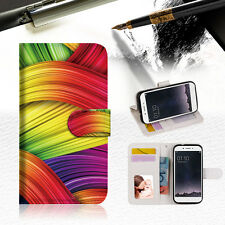Meaningful Abstract Wallet TPU Case Cover For OPPO F1S-- A020