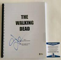 Greg Nicotero Autographed The Walking Dead Pilot Script Signed TWD Beckett COA