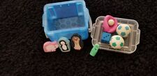 Novelty Erasers  Colorful and Fun Pencil Erasers in Storage Container