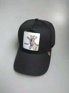 Goorin Bros GOAT rebound trucker baseball hat animal farm New