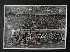 Sammelbild Olympia 1936 Entscheidungslauf 1500m - b6996