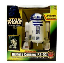 Star Wars Power of The Force - Electronic Remote Control R2-D2 - Lights & Sounds