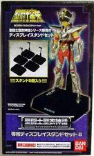 Saint Seiya Les chevaliers du Zodiaque Myth Cloth EX Bandai Display Noir NEUF