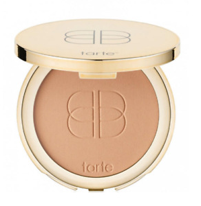 "NIB! tarte ""confidence"" creamy powder foundation in medium-tan honey"