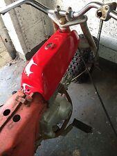 Honda ATC70 73-74 K0, K1, Fibre Glass Fuel Gas Tank Scarlet Red Daytona Orange