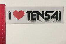 Aufkleber/Sticker: I Love Tensai - Radio TV HiFi Video (30031669)