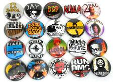 "20 Hip Hop - 1"" Fridge Magnets Set - One Inch House Rap Music 1980s 1990s"
