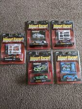 Import Racer by Jada Toys Die Cast Vehicles-Lot of 5 cars