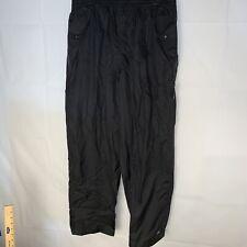 Helly Hansen Waterproof Rain  Pants - Black - Size Large Seam Sealed MMM