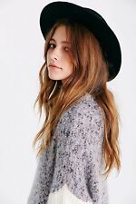 Urban Outfitters Free Size Black 100% Wool Hat