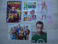 5 FAB THE BIG BANG THEORY magazine poster Jim Parsons Johnny Galecki Kaley Cuoco