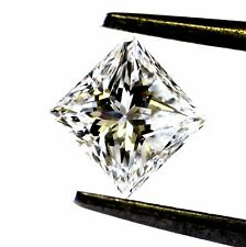 loose GIA certified princess cut 1.00ct diamond F SI1 5.46 X 5.29 X 3.99mm