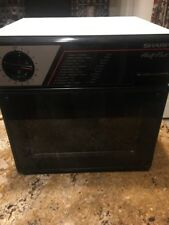 SHARP HALF-PINT MICROWAVE R-4060 GREAT FOR DORM ROOM, OFFICE, RV WORKS EXCELLENT