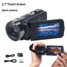 16X ZOOM 1080P 24MP Digital Video Camcorder Camera DV 2.7'' HDMI 270°Rotation