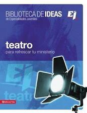 Especialidades Juveniles / Biblioteca de Ideas: Teatro para Refrescas Tu...