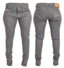 Pantaloni per tutte le stagioni grigi per motociclista