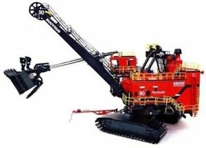 TWH 011S Bucyrus 495HR Mining Shovel - Syncrude 1/50 Die-cast O Scale MIB