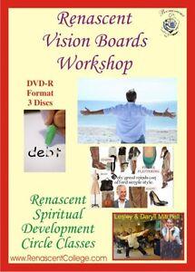 VISION BOARDS Correspondence Course Workshop Distance Study Manifest Abundance