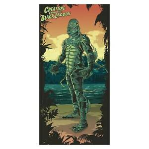 """Creature from the Black Lagoon 30"""" x 60"""" Beach Towel Brand New IN STOCK!"""