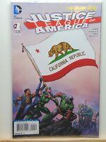 Justice League of America #1 California State Flag D.C. Comics  CB4826