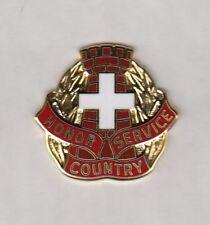 US ARMY MEDICAL 225th MEDICAL BATTALION crest DUI badge c//b G-23