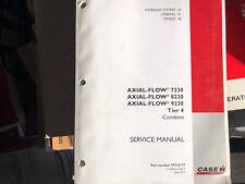 Case Ih Axial Flow 7230 8230 9230 Combine Hydraulic Wheels Steer Service Manual