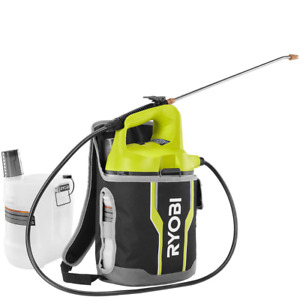 18V 2 Gal Lithium-Ion Cordless Chemical Sprayer Holster W Extra Tank (Tool-Only)