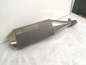 Suzuki GSXR1000 GSX-R1000 K5/K6 2005-2006 Genuine Titanium Silencer 14310-41G00