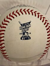 MLB Authenticated - HOME RUN DERBY Ball (2018) - Jesus Aguilar (Out)