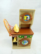 FISHER PRICE LOVING FAMILY DOLLHOUSE LAUNDRY ROOM WASHER & DRYER IRONING BOARD