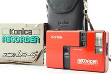[Mint💥New Seals w/Box Case] Konica Recorder Half Frame Point & Shoot From Japan